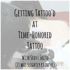 getting tattood
