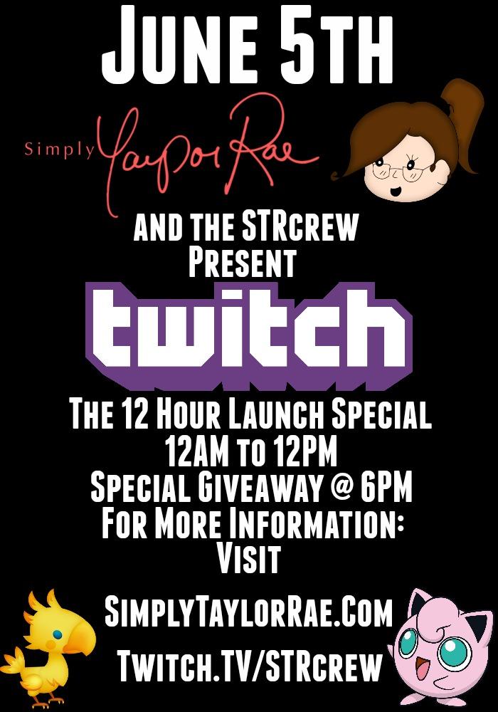 Twitch Flyer