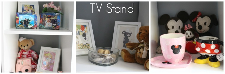 Room Tour TV stand